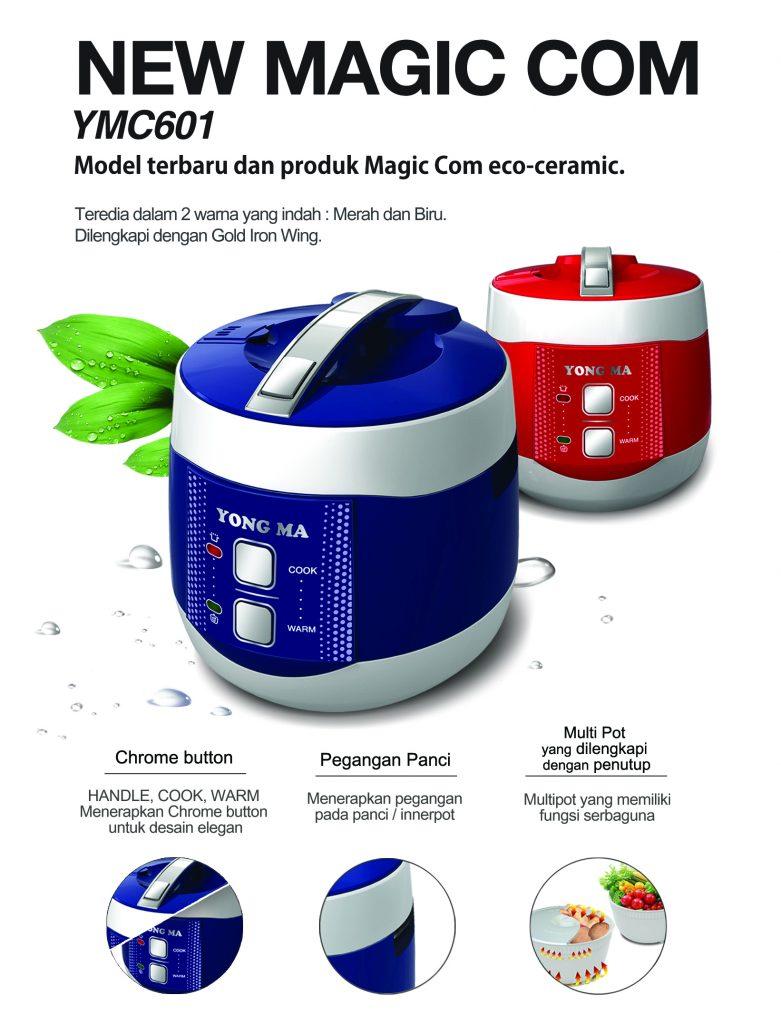 Yong Ma Ymc 601 Magic Com Rice Cooker Digital Mc Scoop Yang Bisa Berdiri Setelah Digunakan Dapat Diletakkan Di Mana Saja Secara Cup Measurement Cangkir Pengukur